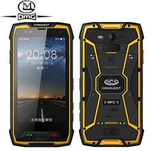 """Conquest S11 7000mAh 6GB RAM 128GB ROM IP68 Shockproof 4G Smartphone NFC OTG cell phones Android 7.0 Rugged 5.0"""" Mobile Phone"""