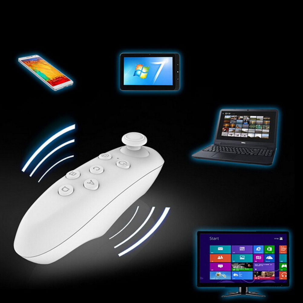 Bluetooth Wireless 3.0 Gamepad Bluetooth <font><b>VR</b></font> Remote Controller Wireless Mouse Joystick for <font><b>VR</b></font> BOX 3D <font><b>Glasses</b></font> Smartphone Tablet PC image