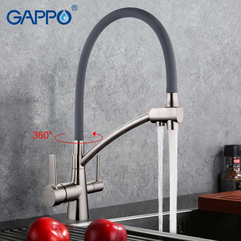 GAPPO фильтр для воды, краны, кухонный кран, смеситель, кухонный кран, смеситель для раковины, кран для очистки воды, смеситель кухонный фильтр