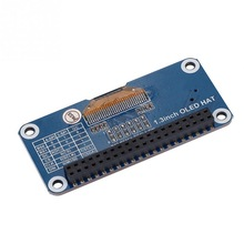 1.3 inch OLED Display HAT Expansion Board For Raspberry Pi 2B/3B for Zero W computer