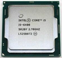 Intel Core i5 6400 2.7 GHz 6 mb pamięci podręcznej Quad-Core 65 W procesor CPU SR2BY LGA1151