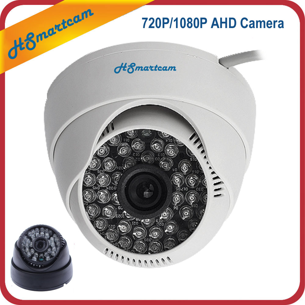 HD 1080P/720P AHD CCTV Security Camera AHD Analog High Definition Surveillance Camera 2.0MP 1200TVL Indoor 48 IR LED Dome Camera sucam 1 0mp home ahd security camera 720p 20 meters ir nano led light infrared ir surveillance camera pal ntsc easy installtion