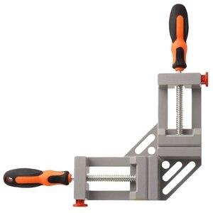 Image 1 - Pince dangle à Double poignée chaude WSFS pince dangle à dégagement rapide à 90 degrés pour le soudage de la pince de cadre Photo en bois