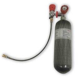 Ac1217101 Paintball Condor Fucile Ad Aria Compressa Co2 Serbatoio 2.17L Cilindro Pcp Ce 4500Psi Composito Bottiglia della Fibra del Carbonio Per Il Tiro Al Bersaglio