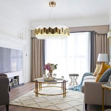 Modern Luxury Gold Led Pendant Lights Fixtures Glass Hanging Lamp Metal Lustre Kitchen Dining Room Decor Home Lighting 220V цена