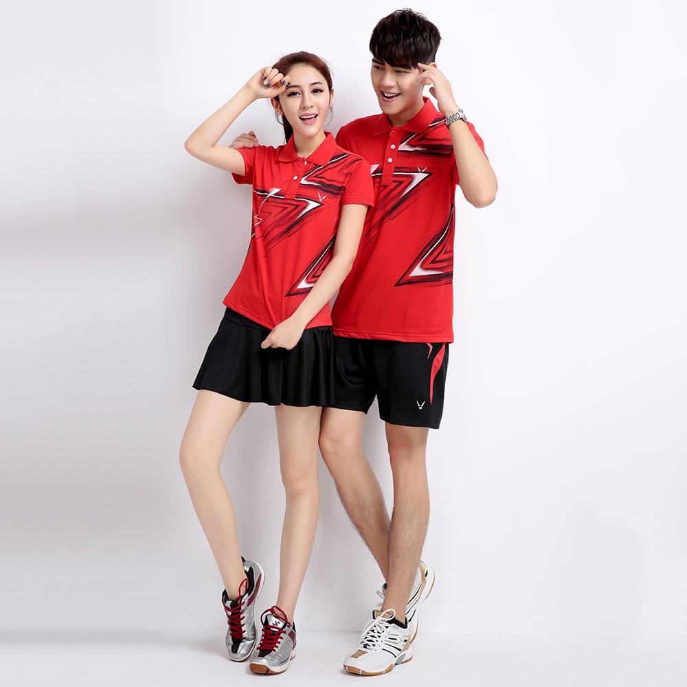 Adsmoney badminton Shirt Shorts Brand New Mens Polo Shirt For Men/Women Polos Short Sleeve Sports Jerseys Golf Tennis Suit