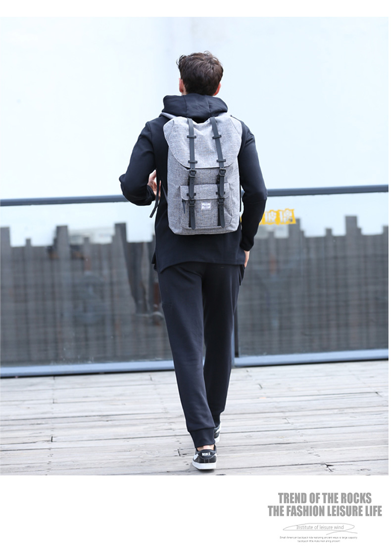 Bodachel Travel Oxford Backpack For Men School Bag Laptop Notebook ... 58673990f7d0b