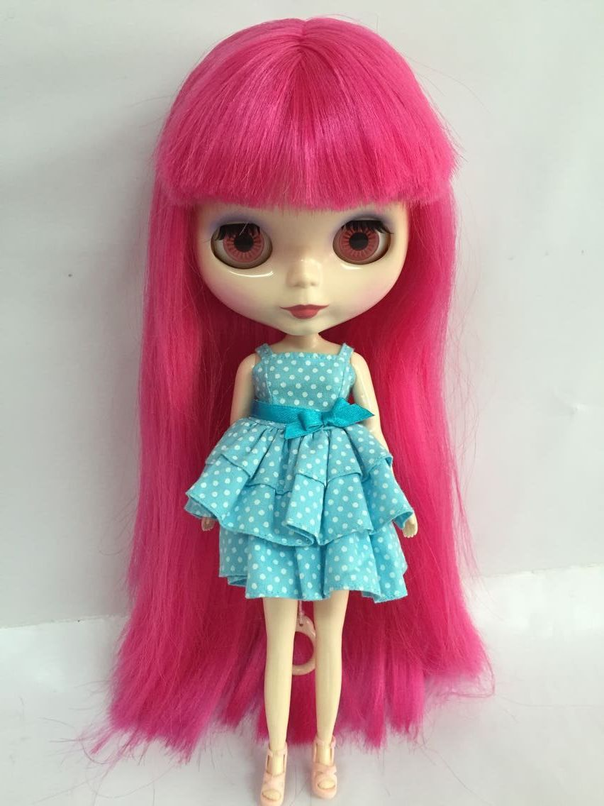 Free shipping cost Nude Blyth Doll ,brown hair Factory