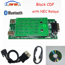 2018 Latest 2015 R1 super Black cdp bluetooth NEW VCI Black CDP 2015 R3 with keygen for cars /trucks diagnostic tool Car Scanner
