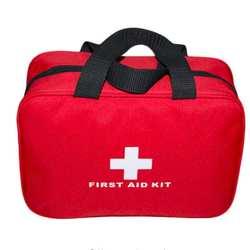Рекламная аптечка для первой помощи большой автомобильный аптечка для первой помощи Большой Открытый аварийный комплект сумка для