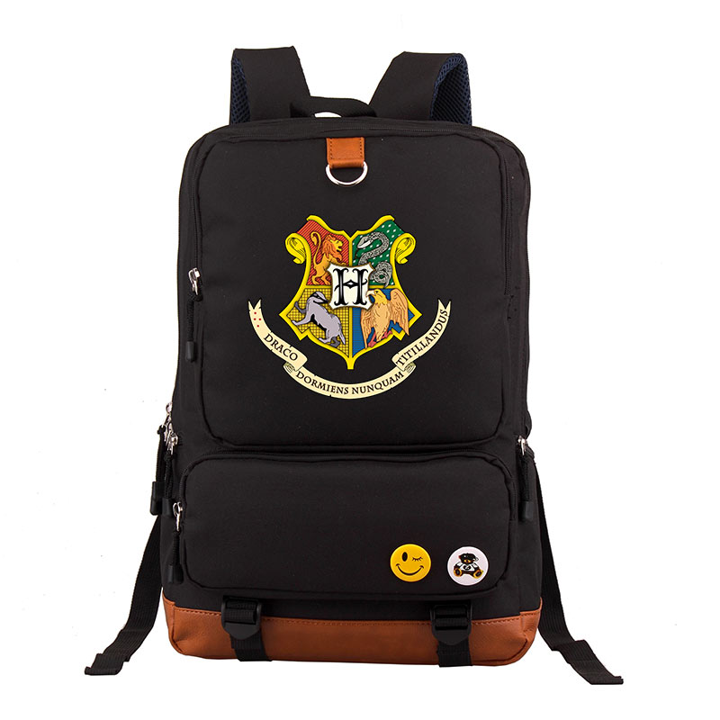 Hp School Bags Book Backpacks Children Bag Fashion Shoulder Bag Students Backpack Travel Bag For Teenagers Mochila