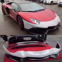LP700 to LP720 Car Body Kits front bumper rear bumper rear spoiler for Lamborghini Aventador LP700 Car Styling 11-15 цена