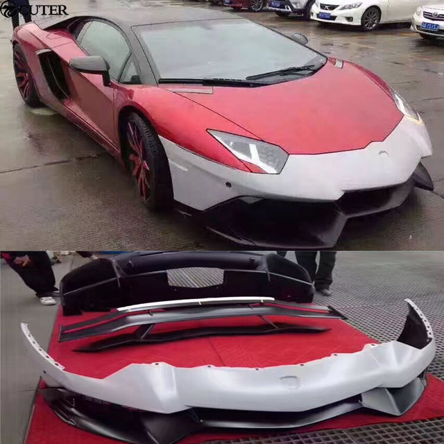 Lp700 To Lp720 Car Body Kits Front Bumper Rear Bumper Rear Spoiler