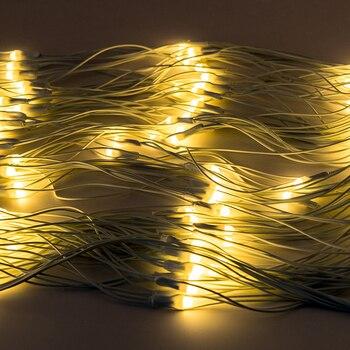 Tende Bianche Blu | Coversage 2X3 M Ghirlande Di Natale LED String 300 Led Di Natale Luci Leggiadramente Di Natale Garden Decorazione Di Cerimonia Nuziale Della Tenda Netto Luci