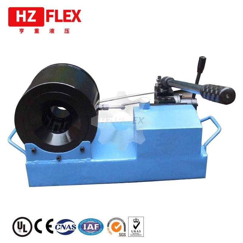 2019 HZFLEX HZ-25S Мобільні Автомобільні послуги 25мм Гідравлічний шланг Обтирувальний верстат / Використовується в ванному шлангу Crimper
