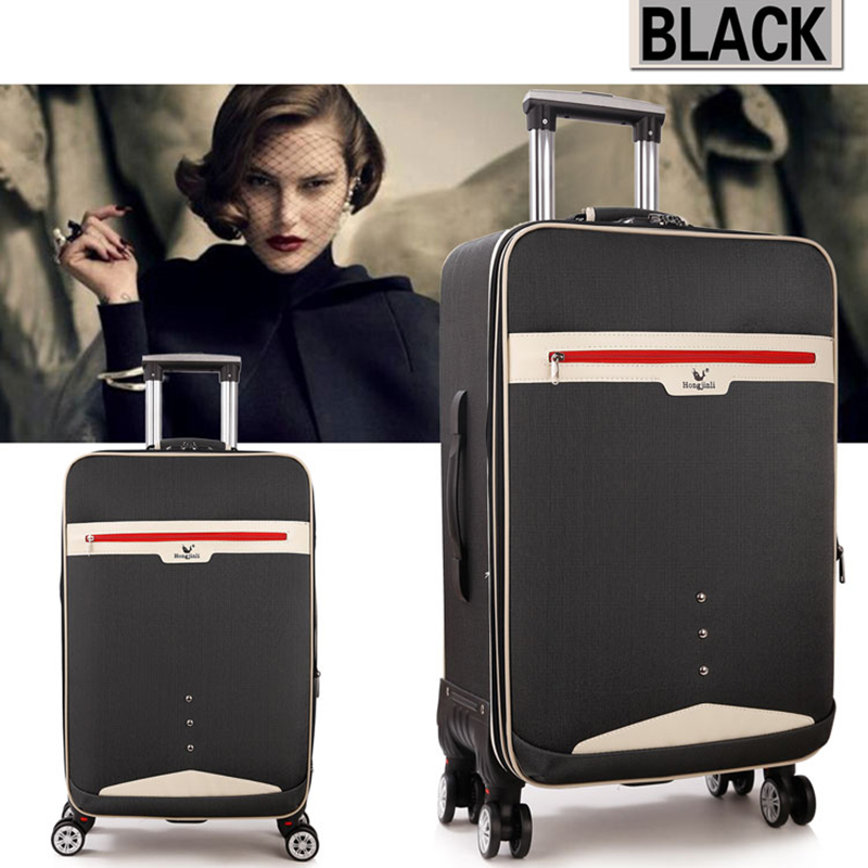 Letrend Student Rolling Luggage Spinner Travel Bag Men Password Trolley Women Suitcases Wheel 20 inch Business Carry On Trunk 20 inch fashion rolling luggage women trolley men travel bag student boarding box children carry on luggage kids trunk suitcases