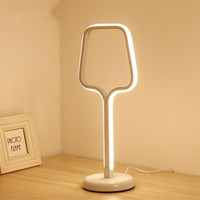 Modern LED Table Lamp Push Switch EU/US Plug Desk Light Eye Care Student Book Reading Light Lampara De Mesa For Bedroom Office