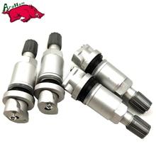 Harbll 4 Piece Válvulas DOS Pneus TPMS Para LAND ROVER/CHRYSLER/VOLVO Válvula Tubeless Tire Pressure Monitoring System Sensor haste de Reparação