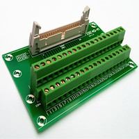 IDC40 2x20 Pins 0 1 Male Header Breakout Board Terminal Block Connector