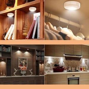 Image 5 - Füllen licht weiß warm weiß led lampe 2 farbe nacht licht closet dekorative licht mit fernbedienung für vitrine