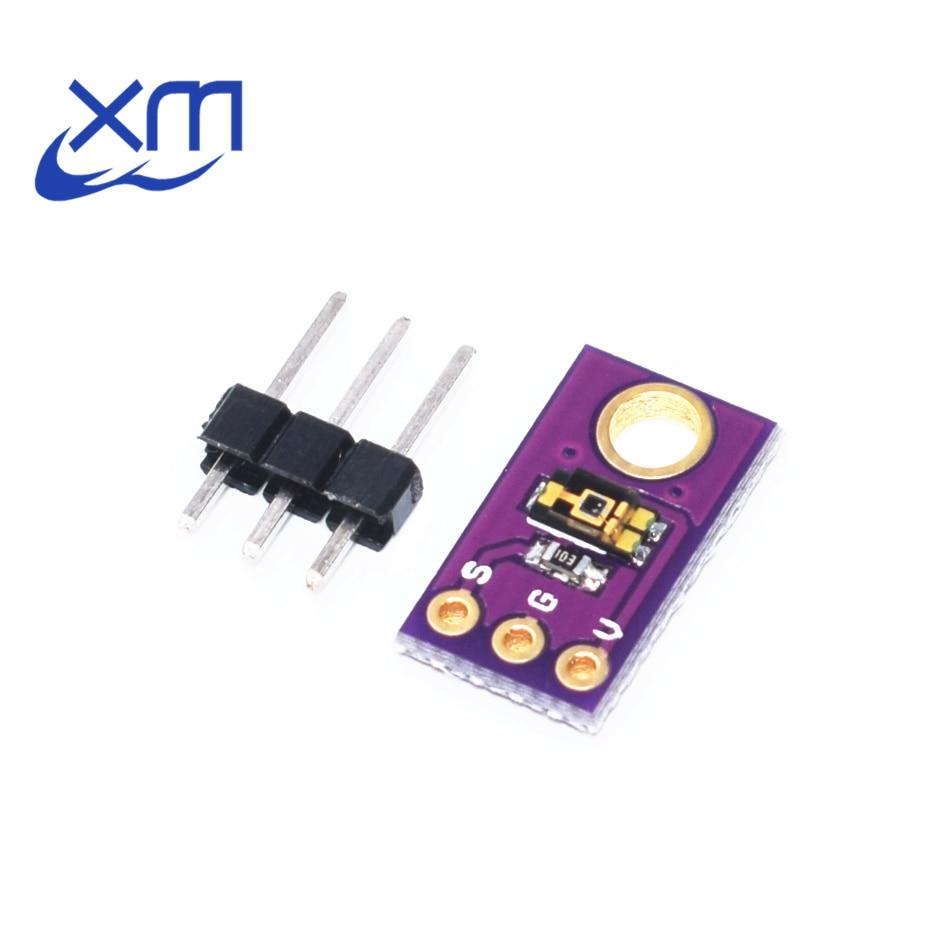 חכם אלקטרוניקה TEMT6000 חיישן תאורת הסביבה לדמות את עוצמת אור מודול חיישן אור