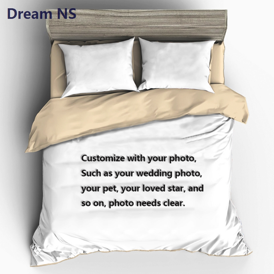 AHSNME Custom Made Bedding Set Your Photo Customized Design Duvet Cover Sets King Queen Twin Size Custom DropshippingAHSNME Custom Made Bedding Set Your Photo Customized Design Duvet Cover Sets King Queen Twin Size Custom Dropshipping