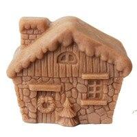 Grainrain HOUSE Мыло Плесень ручной Craft клей силиконовый торт шоколад для выпечки Инструменты