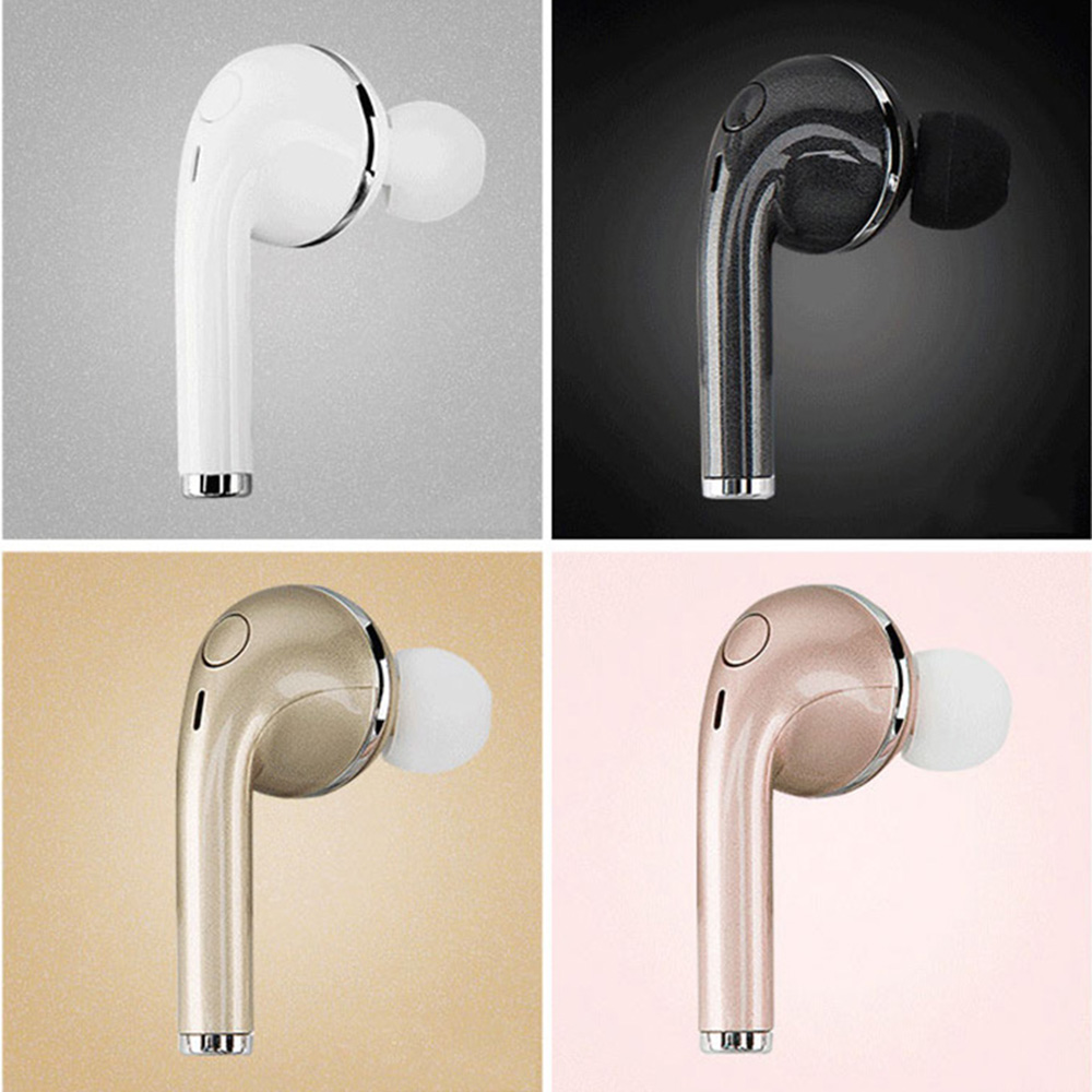 V1 Bluetooth Headset Wireless Earphone Small Music Earbud Noise Cancelling Earpiece Handsfree with Mic for iPhone Android Phones vodool bluetooth earphone earbud mini wireless bluetooth4 1 headset in ear earphone earbud for iphone android smartphone
