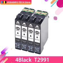 4 Compatible for 29XL Ink Cartridges T2991 -T2994 with Expression Home XP-235 XP-245 XP-335 XP-342 XP-432 XP-442 XP-247 XP-435 цена 2017