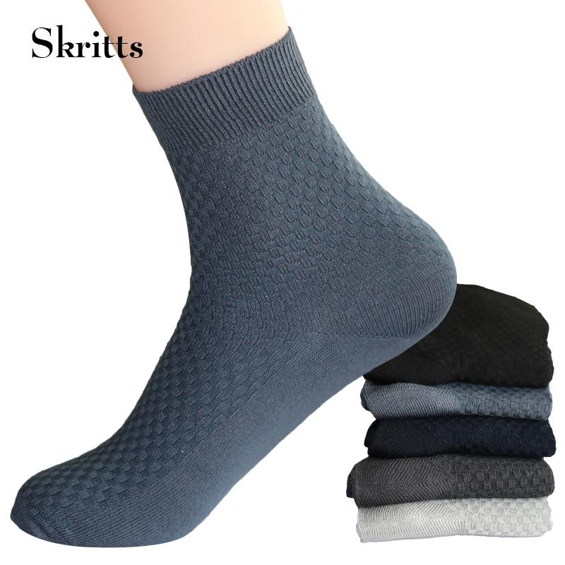 1Pair Men Business Dress Socks for Male Winter Autumn Soft Warm Sock Short Fashion Solid Color Men Socks Compression Ankle Sock