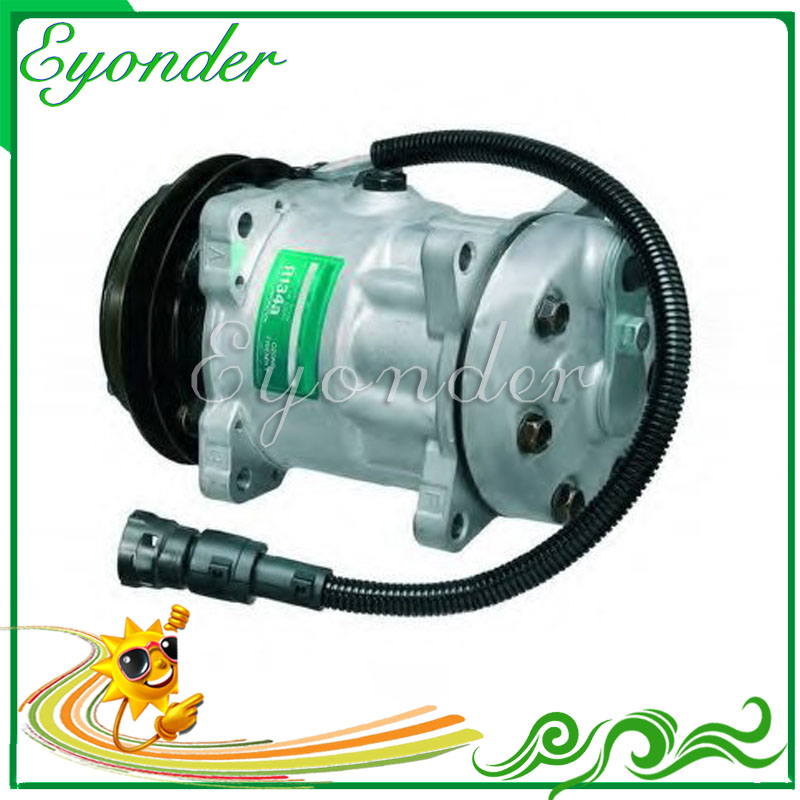 A/C Air Con Compressor Cooling Pump SD7H15 for DAF Truck 24V 95 XF CF 85 95 75 1638737 1638737R 1264800 1444295 1251063 SD8051 95
