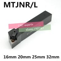 1PCS MTJNR1616H16 MTJNR2020K16 MTJNR2525M16 MTJNR2525M22 MTJNR3232P16 MTJNR3232P22 MTJNL CNC Lathe Cutting External Turning Tool|Tool Holder| |  -
