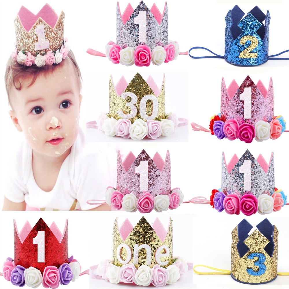 BIRTHDAY PRINCESS PINK HEADBAND-TODDLER,GIRLS ACCESSORIES PARTY-HANDMADE 2nd
