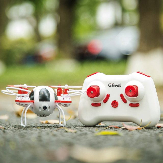 Mini RC Quadcopter 720 P Cámara 3 Modos de Velocidad de 2.4 GHz de 4 Canales 6 axis gyro drone 3d rollover dron toys helicóptero de control remoto