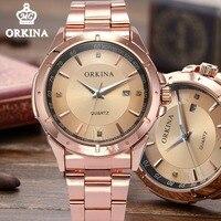 Orkina 2016 Men S Relogio Masculino Dress Quartz Auto Date Watch Men Relogios Watches Erkek Kol