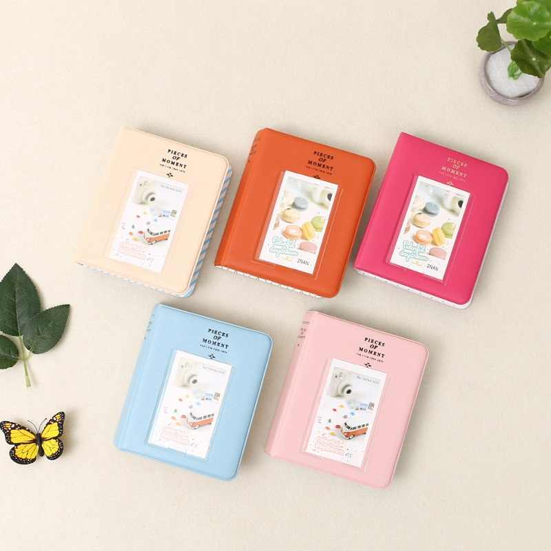 64 Pockets Mini Polaroid Instant Photo Album Picture Case Storage Fujifilm Instax Film Unique Classic Korea Style 7s 8 25 50s 90