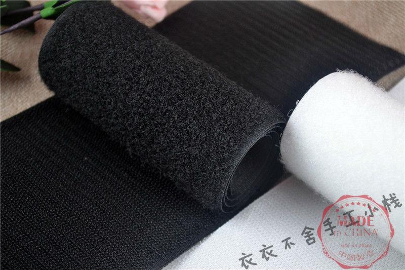 VELCRO® Brand 20,25,50mm Tape Sew-On Fastener Hook /& Loop Tape for Material B/&W
