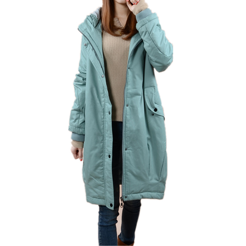 Military Jackets Hooded Warm Cotton Winter Jacket Women Thicken Wadded Parka Long Womens Jacket Casual Maxi Coats Parkas C3203 womens coats and jackets thick fur collar winter jacket women hooded cotton wadded jacket parka female outwear maxi coats c3708