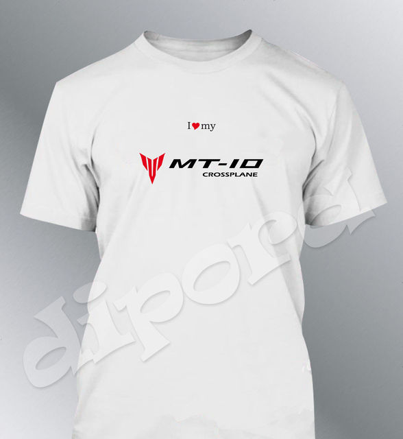 outlet store 11cd6 bd0ba US $12.06 5% OFF T shirt passt MT10 setup S M L XL XXL herren moto MT 10-in  T-Shirts from Men's Clothing on Aliexpress.com   Alibaba Group