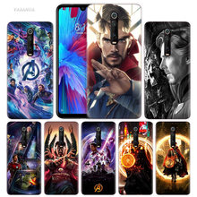 Marvel Doctor Strange Case for Xiaomi Redmi Note 7 7S K20 Y3 GO S2 6 6A 7A 5 Pro MI Play 9T A1 A2 8 Lite Poco F1 Soft Phone Bags(China)