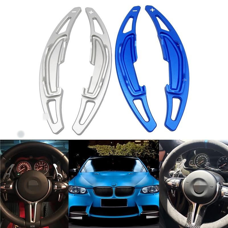 2pcs Car Shift Paddle Aluminum Car Steering Wheel Shift Paddle Extension Shifter Car Accessories For BMW M2/M3/M4/M5/M6/X5M/X6M2pcs Car Shift Paddle Aluminum Car Steering Wheel Shift Paddle Extension Shifter Car Accessories For BMW M2/M3/M4/M5/M6/X5M/X6M