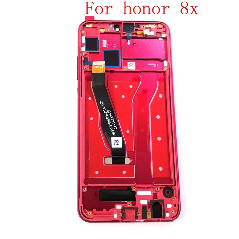 For Huawei Honor 8X JSN-AL00 JSN-L22 JSN-L21 Lcd Display+Touch glass Digitizer Frame Full assemblyFor Huawei Honor 8X JSN-AL00 JSN-L22 JSN-L21 Lcd Display+Touch glass Digitizer Frame Full assembly