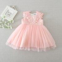 0-24 m baby dress pluizige baby meisjes tutu jurken mooie wedding dress baby peuter meisjes kleding doopkleedjes