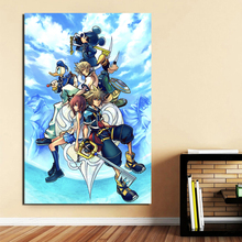 Come With kingdom Hearts HD Canvas Posters Prints Wall Art Oil Painting Decorative Pictures Modern Home Decoration Accessories