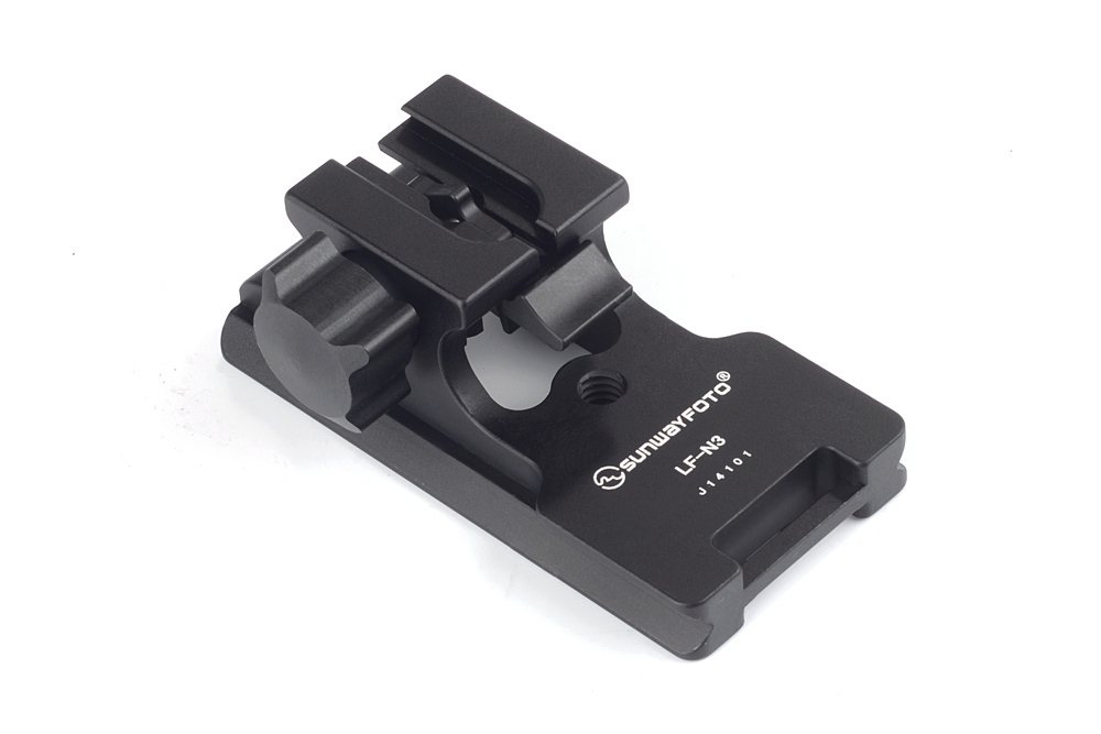 SUNWAYFOTO LF-N3 Tripod Quick Release Plate Telephoto Lens Support Lens Replacement Foot Tripod Plate Telephoto Lens Support