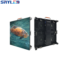 Outdoor Waterproof IP65 P4.81 Full Color 500MM x 500MM Die-casting Aluminum LED Cabinet