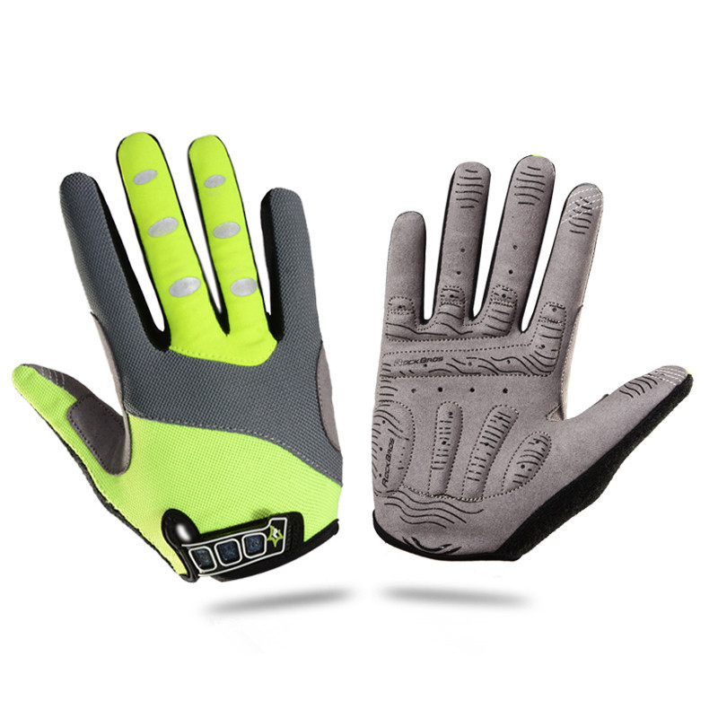 ROCKBROS Cycling <font><b>Gloves</b></font> Long Finger with Gel Pad Mountain MTB Bike Winter <font><b>GLoves</b></font> Touch Screen Cycling Sports Breathable Mittens
