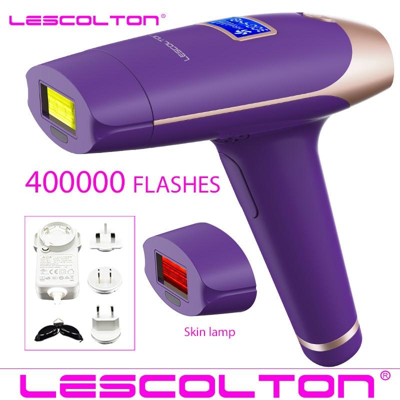 Image 3 - Lescolton 4in1 IPL Epilator Permanent Laser Hair Removal LCD Display 1000000 Pulses depilador a laser Bikini Photoepilator-in Epilators from Home Appliances