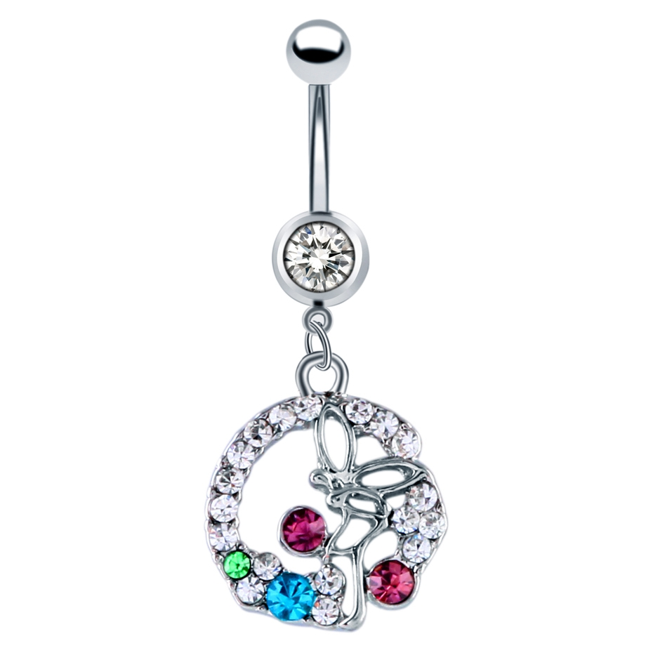 image sexy belly ball women naval product navel crystal ring rhinestone button body jewelry rings barbell piercing products