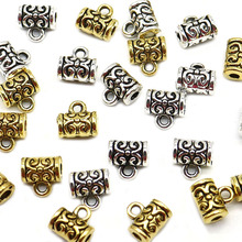 Wholesale 50pcs/lot Gold/Silver Crown Metal Zinc Alloy Connectors for Charm Bracelet Spacer Beads metal jewelry making